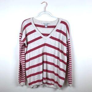 American Rag Striped Oversized Sweater XS
